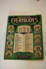 AAMSCO 1933 Everybody's Favorite Songs Series 1*** Please Read