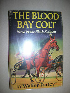 The Blood Bay Colt by Walter Farley 1950 First Edition First Printing DJ COOL!