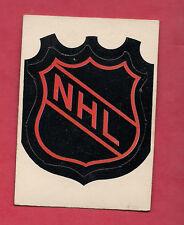 RARE 1972-73 OPC NHL  LOGO  INSERT CARD