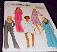 Butterick sewing pattern B5688 Size ZZ  L-XL-XXL Missus Top, Gown and Pants