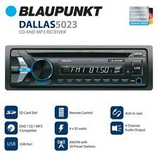 NEW DALLAS5023 Blaupunkt Head unit AM/FM/CD/BT/USB/Remote/ Detachable Face