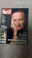 PARIS MATCH numero 3405 aout 2014:special mort deces ROBIN WILLIAMS souvenirs!