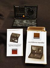 6452:ROWENTA, Worldtime Traveller, Reisewecker, In OVP mit Anleitung,Vintage!