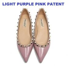 MW009973 - FASHION POINTED TOE STUDDED FLAT SHOES (SIZE 34 - 42)