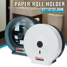 Toilet Round Roll Paper Dispenser Holder Roll Wall Mounted Bathroom Waterproof