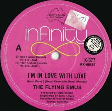 Flying Emus ORIG OZ Promo 45 I'm in love with you NM '87 Infinity Bluegrass
