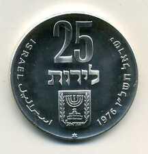 25 Lirot Israel 1976 28 Jahre Staat Israel Silber M_690