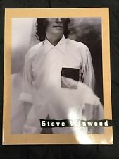 Steve Winwood-1991-Refugees Of The Heart Tour Concert Program Book