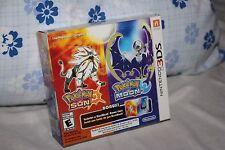 Pokémon Sun/Pokémon Moon Steelcase Exclusive (Nintendo 3DS, 2016)