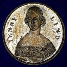 ORIGINAL JENNY LIND NESCIT OCCASUM NATA 1821 COMMEMORATIVE MEDAL- *1091