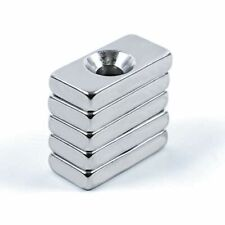 N35 Lot Square Disc Hole Rare Earth Magnets Strong Block Magnetism Neodymium