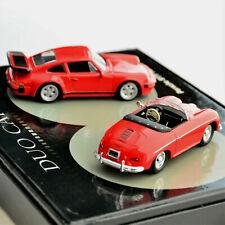 Duo Cars Porsche 356 Speedster & 911 Turbo - 1:43