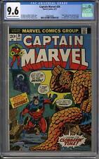 Captain Marvel #26 CGC 9.6 (OW-W) 1st Thanos Cover