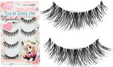 5Pairs Natural look Long Extension Thick cross Fake False Eyelashes eye lashes