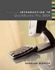 Introduction to QuickBooks® Pro 2004, Sleeter, Douglas, Acceptable Book