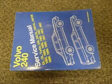 1992 & 1993 Volvo 240 DL GL SE Turbo Sedan Wagon Shop Service Repair Manual