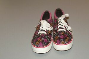 NWOB KEDS GIRLS SIZE 12M BROWN HEART SNEAKERS! BRAND NEW!