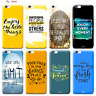Custodia Cover Design Frasi Per Apple iPhone 4 4s 5 5s 5c 6 6s 7 Plus SE