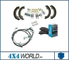 For Toyota Landcruiser HDJ79 Series Hand Brake Cable Shoes Pads and Kit