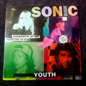 SONIC YOUTH EXPERIMENTAL JET SET.SEALED BLUE VINYL RARE 1994 INDIE LP