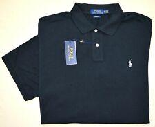 New LT Large TALL POLO RALPH LAUREN Mens Black Polo Shirt short sleeve top NWT
