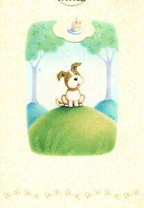 Ellie's World Happy Birthday Puppy Dog Theme Hallmark Greeting Card