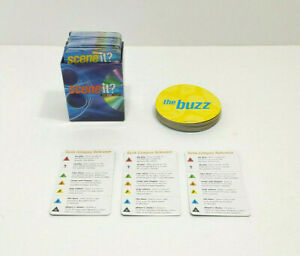 2003 Scene It? The DVD Game Board Trivia Buzz Reference Cards ONLY Replacement