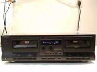 TECHNICS RS-TR212 Stereo Double Cassette Tape Deck Dolby Vintage Japan