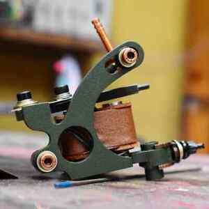 Handmade tattoo machine shader mag 5-25, Running 105-110 Hz @ 4.5 V Unloaded