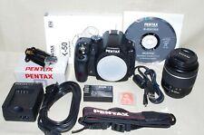 Nuovo di zecca K-50 Pentax Digital SLR BOX COMPLETO più scuro; garanzia dell'immagine; 30 giorni di ritorno
