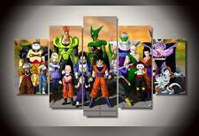 Modern Abstract Oil Painting Wall Decor Art Poster - Cartoon Dragon Ball Group