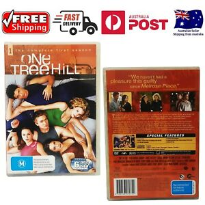 One Tree Hill : Season 1 (2006 : 6 Disc DVD Set) - Like New *FREE SHIPPING*