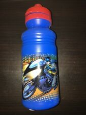 DC Batman Plastic Red Cap Sports Bottle 18 fl oz New