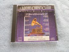 25 Years of Grammy Greats by Various Artists (CD, Motown)