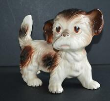 Old china / porcelain dog - Melba made in England .