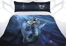 Anne Stokes Doona cover quilt duvet Bed bedding skull Sailor Ruin Mermaid QUEEN