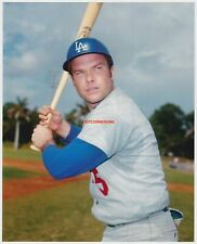 JIM LEFEBVRE 1970'S DODGERS QUALITY REPRINT PHOTO FROM TOPPS ORIGINAL NEGATIVE