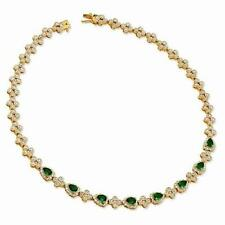 NEW JACQUELINE BOUVIER KENNEDY FIRST LADY NECKLACE GREEN CRYSTAL CAMROSE & KROSS