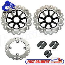 Front Rear Brake Disc Rotor & Pads for Honda CB 600 F 599 CB F Hornet S 02 - 06