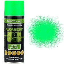 48 X 400ml Multi Usage Vert fluo Peinture aérosol Maison Voiture plastique