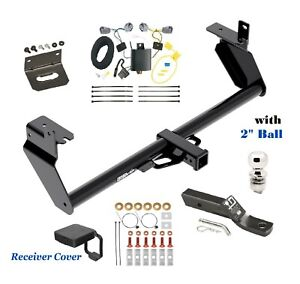 Trailer Hitch Package Deluxe for 2014-2018 JEEP CHEROKEE except TRAIL & V6