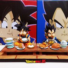 Dragon Ball SONGOKU Vegeta comer estatua pintada de modelo de resina ORIGINAL de A + en existencias