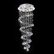 LED Deckenlampe Kristall Deckenleuchte Kronleuchter Wohnzimmer Leuchte 25cm DE