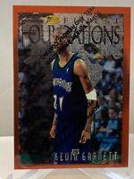 1996-97 Topps Finest Kevin Garnett #205