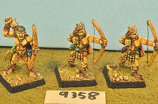 Caos 3 arqueros merodeadores bárbaros Metal (9358) Warhammer Fantasy