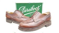 PARABOOT Chambord UK 7.5 EU 41,5-42 Cuir chaussures marron. EXPÉDITION MONDIALE!!!