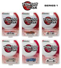 1:64 GreenLight *TOKYO TORQUE JAPAN* SET OF 6 CARS *CHANCE AT GREEN MACHINE* NIP