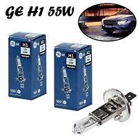 2x GE H1 100W 12V P14,5s 52140//1U Klar Weiß Scheinwerfer Halogen Off-Road Lampe