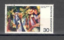 GERMANIA 665 - FEDERALE 1974 QUADRI - MAZZETTA  DI 10 - VEDI FOTO