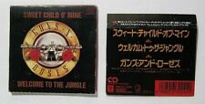 "Guns N Roses Sweet Child O' Mine/Welcome to the Jungle (1988) 3"" Japan Mini CD"